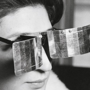 Martha Le Parc with Lunettes pour une vision autre (Glasses for Another Vision)
