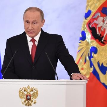 Image: Russian President Vladimir Putin on Dec. 1, 2016
