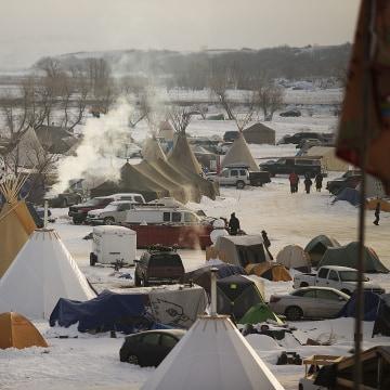 Image: Dakota Pipeline Protesters