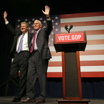 Image: Mike Pence, John Kennedy