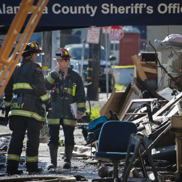 Image: Warehouse Fire Kills Several People At Dance Party In Oakland