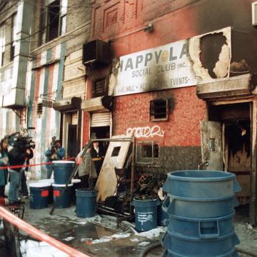 IMAGE: Happy Land social club fire