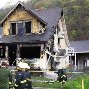 IMAGE: Charleston, West Virginia, fire