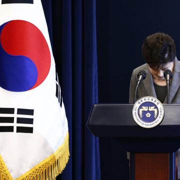 Image: South Korean President Park Geun-hye