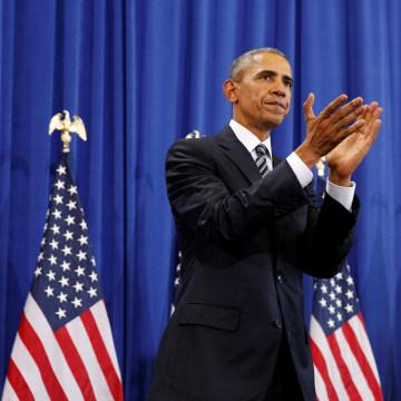 Image: Obama visits MacDill Air Force Base in Tampa, Florida