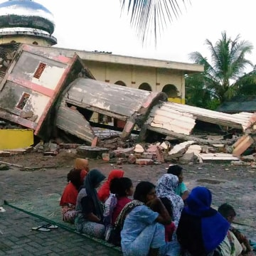 Image: INDONESIA-QUAKE