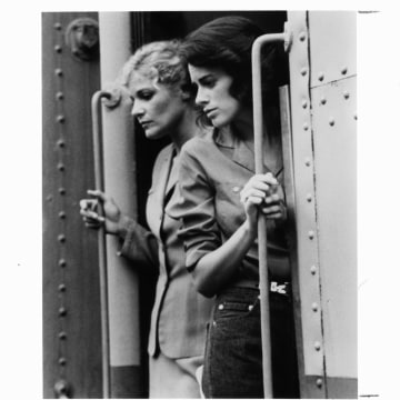 Helen Shaver And Patricia Charbonneau In 'Desert Hearts'