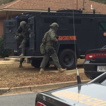 IMAGE: Georgia shooting scene