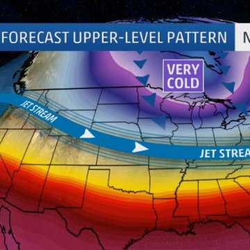 Image: Temperatures are expected to plunge across the nation next week