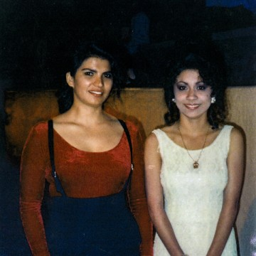 IMAGE: Anna Reyes and Annette Rodriguez