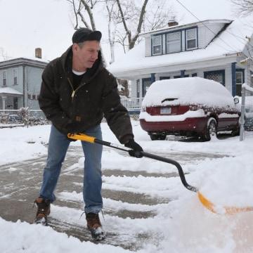 Image: Michigan snow