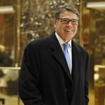 IMAGE: Rick Perry at Trump Tower