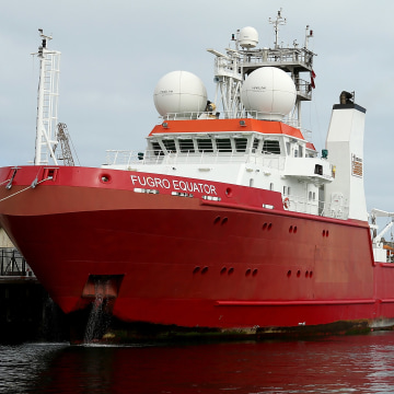 Image: MH370 Search Vessel Fugro Equator Returns To Fremantle For Routine Resupply