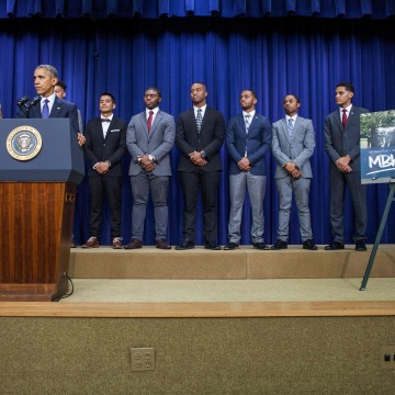 Image: US-15-POLITICS-OBAMA-MY BROTHERS KEEPER SUMMIT