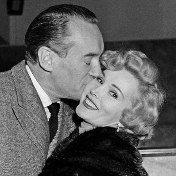 Image: George Sanders and Zsa Zsa Gabor