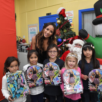 Mattel and Dania Ramirez donate $10,000 worth of toys to the Boys & Girls Club of Burbank