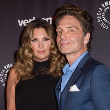 Image: Daisy Fuentes and musician Richard Marx