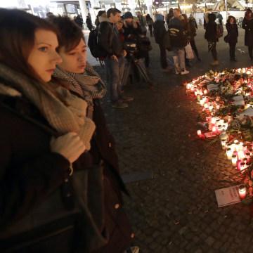 Image: Memorial after Berlin truck attack