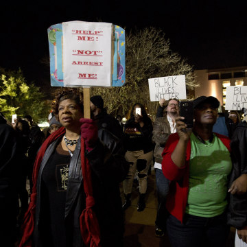 IMAGE: Protest in Fort Worth, Texas