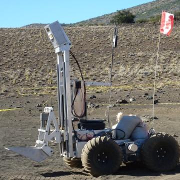Image: An autonomous load haul dump vehicle