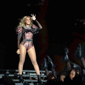 Image: Beyonce performs during the Formation World Tour