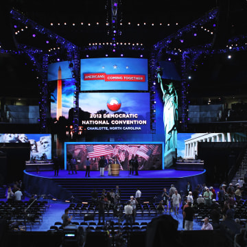 Image: Charlotte Prepares For Democratic National Convention