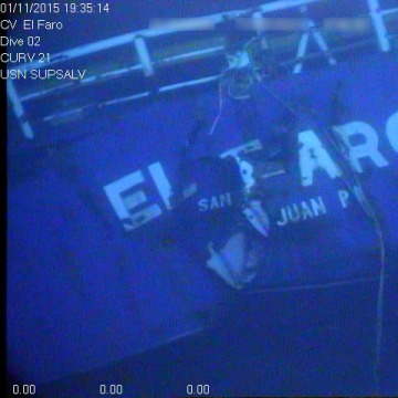 IMAGE: Stern of the El Faro