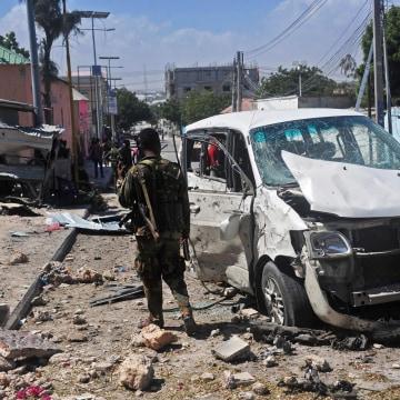 Image: SOMALIA-CONFLICT-BLAST