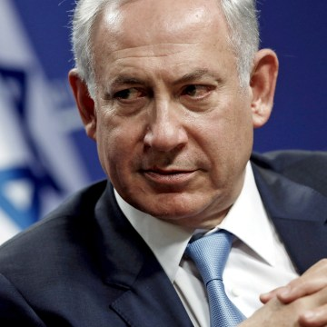 Image: Israel's Prime Minister Benjamin Netanyahu in 2015