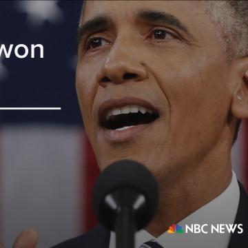 """I know, 'cause I won both of them."" (January 20, 2015)"