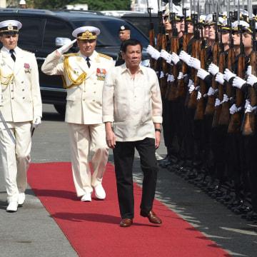 Image: Philippines' President Rodrigo Duterte