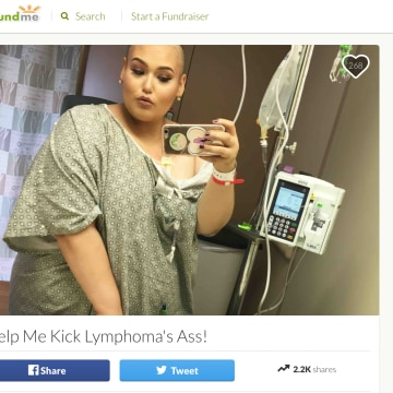 Screenshot of Amanda Ramirez's Gofundme.com page.