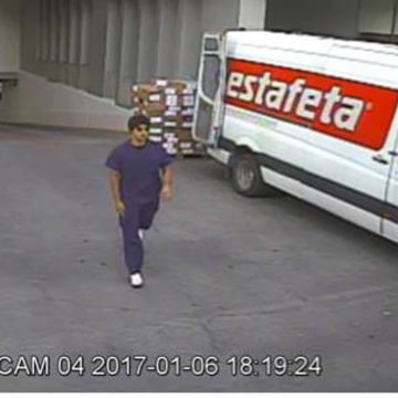 Image: Surveillance video of suspect