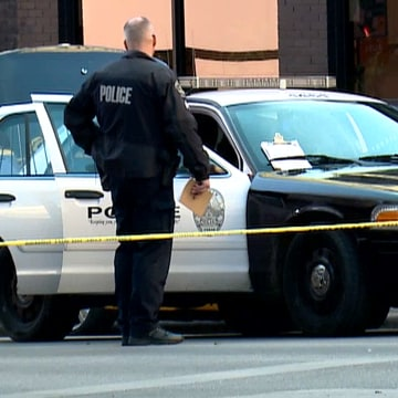 Police Officer Car Inside