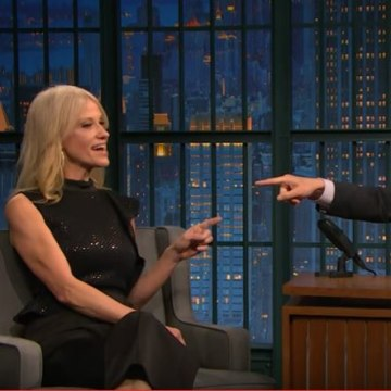 Image: TKellyanne Conway clashed repeatedly with Seth Meyers