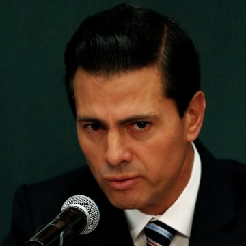Image: Mexico's President Enrique Pena Nieto announces a plan to strengthen the economics for families in Mexico City, Mexico