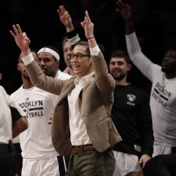 Image: Cleveland Cavaliers at Brooklyn Nets, USA - 06 Jan 2017