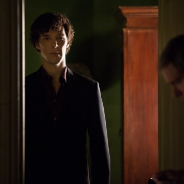 Image: Benedict Cumberbatch and Martin Freeman in a scene from 'Sherlock'