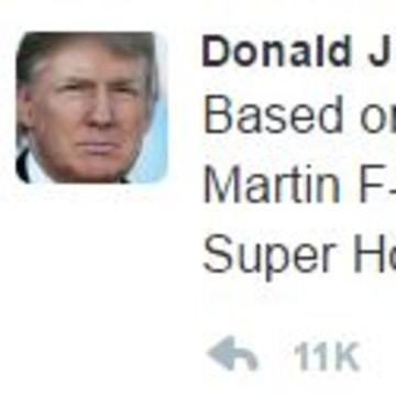 Trump attacks Lockheed
