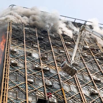 Image: Iran Plasco building fire