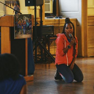 GirlTrek's day of #BlackGirlHealing held on Inauguration Day