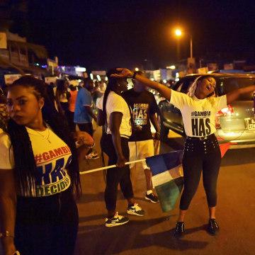 Image: GAMBIA-POLITICS-PRESIDENT