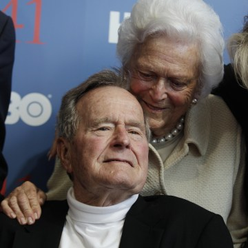 Image: George H.W. and Barbara Bush