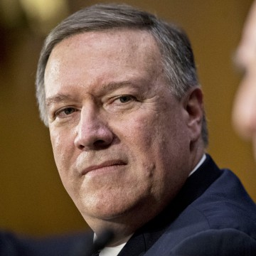 Image: Rep. Mike Pompeo, a Republican from Kansas and Central Intelligence Agency (CIA) director nominee for President Donald Trump, in Washington, D.C. on Jan. 12.