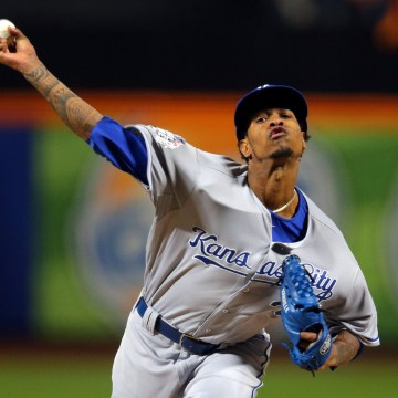 Image: File photo of Kansas City Royals starting pitcher Yordano Ventura