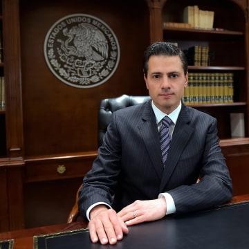 Image: Mexican President Enrique Pena Nieto