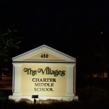 Image: Students at The Villages Charter Middle School in Sumter County, Fla., told educators about a rumor that potentially averted a school shooting.