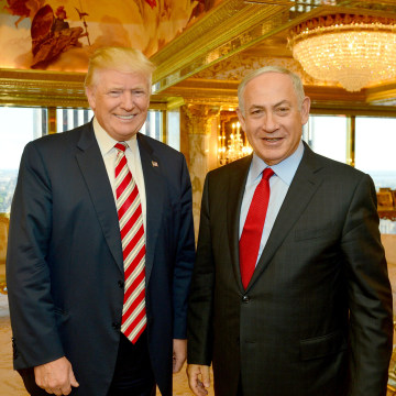 Image: Donald Trump and Benjamin Netanyahu