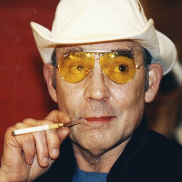 Image: Hunter S. Thompson in 1996