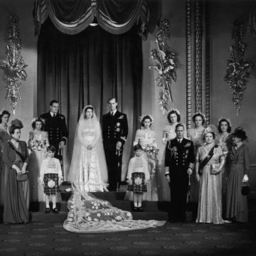 Image: 1947 royal wedding